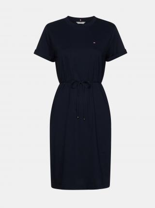 Tommy Hilfiger tmavě modré šaty - M dámské modrá M