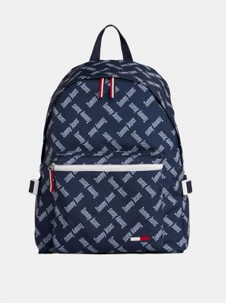 Tommy Hilfiger tmavě modrý batoh s nápisy dámské modrá