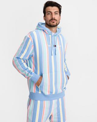 Tommy Jeans Pastel Stripe Mikina Vícebarevná pánské XL