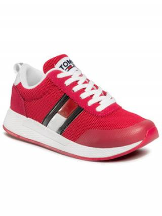 Tommy Jeans Sneakersy Technical Flexi Runner EN0EN00875 Růžová dámské 39