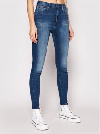 Tommy Jeans Super Skinny Fit džíny Sylvia DW0DW09215 Modrá Super Skinny Fit dámské 34_34