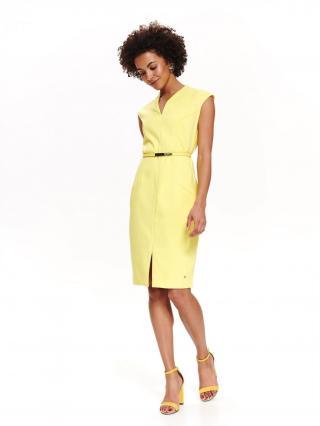 Top Secret dámské šaty dámské Yellow 34