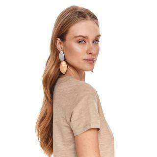 Top Secret LADYS EARRINGS Camel One size