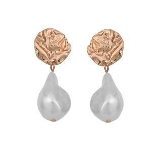 Top Secret LADYS EARRINGS dámské Gold One size