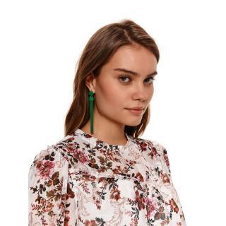Top Secret LADYS EARRINGS Green One size