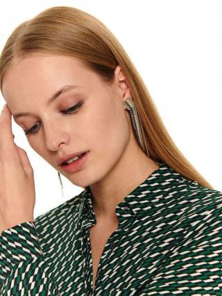 Top Secret LADYS EARRINGS Silver One size
