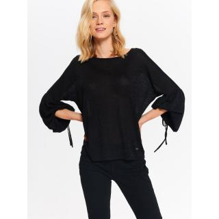 Top Secret LADYS SWEATER LONG SLEEVE dámské Black 36