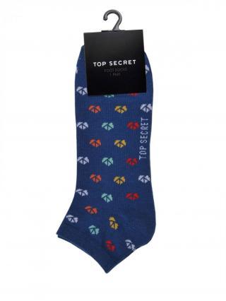 Top Secret MENS SOCKS pánské Dark Blue 41/43