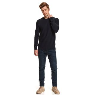 Top Secret MENS SWEATER pánské Dark Blue L