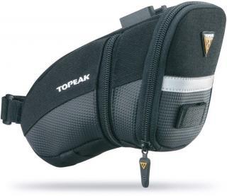 Topeak AERO WEDGE PACK. Medium plus Quick Click Black