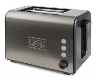 Topinkovač topinkovač black decker bxto900e, 900w, nerez