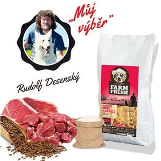 Topstein Farm Fresh Beef and Rice 15 kg
