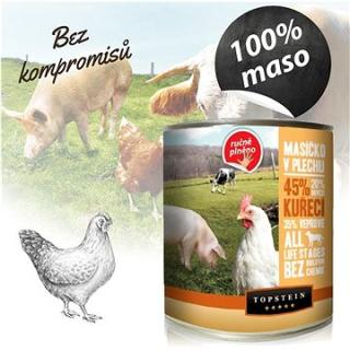 Topstein Masíčko v plechu kuřecí 850 g