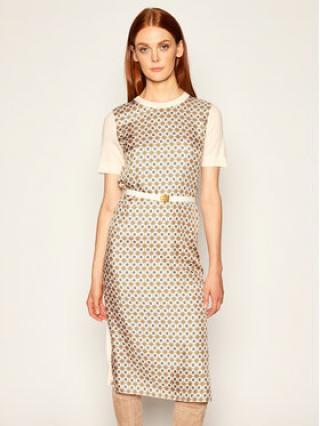 Tory Burch Úpletové šaty Greer 73346 Barevná Regular Fit dámské XS