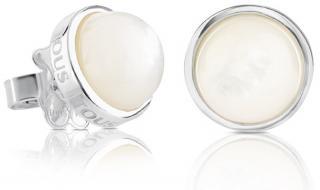 Tous Stříbrné náušnice s perletí 215113500 dámské