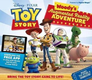 Toy Story - Woody´s Augmented Reality Adventure - Books Carlton