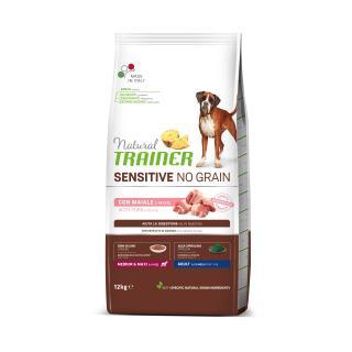 Trainer Natural Sensitive dog NO GRAIN M/M vepřové 12kg