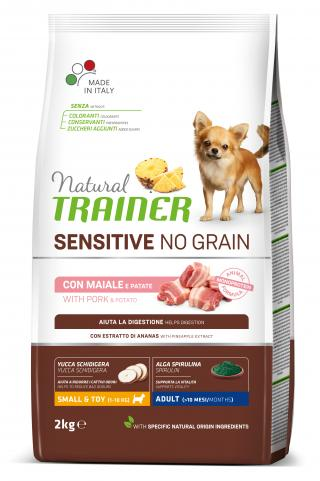 Trainer Natural Sensitive NO GRAIN MINI vepřové 2kg