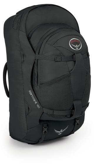 Travel bag Osprey Farpoint 70 Volcanic Grey 70 Litrů