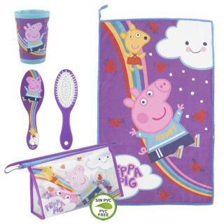 TRAVEL SET TOILETBAG PEPPA PIG Other One size