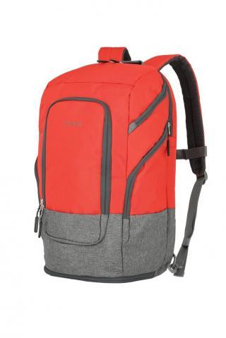 Travelite Batoh na notebook 15,6 Basics L Red 30 l červená