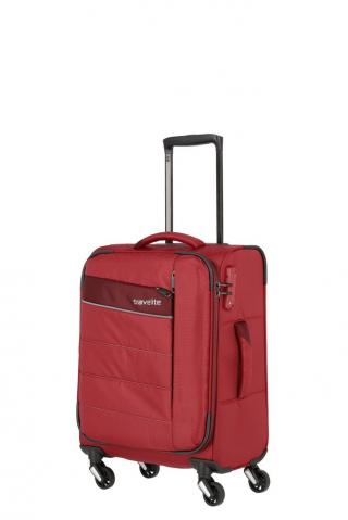 Travelite Kabinový cestovní kufr Kite 4w S Red 36 l červená