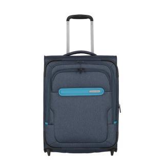 Travelite Kabinový cestovní kufr Madeira 2w S Navy/Blue 41/47 l tmavě modrá