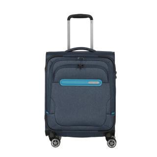 Travelite Kabinový cestovní kufr Madeira 4w S Navy/Blue 37 l modrá