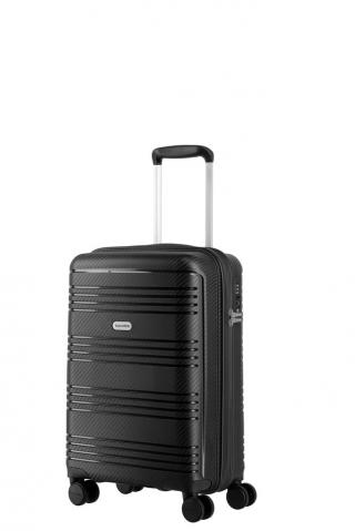 Travelite Kabinový cestovní kufr Zenit S Black 36 l černá