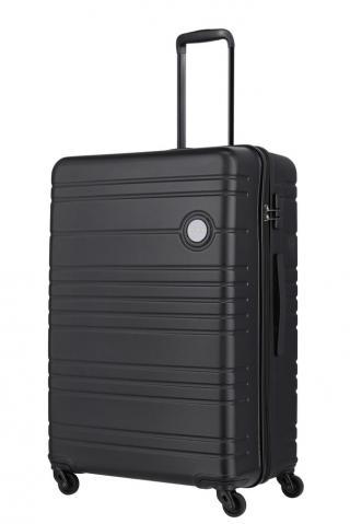 Travelite Skořepinový cestovní kufr Roadtrip L Black 97 l černá