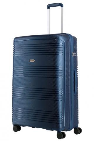 Travelite Skořepinový cestovní kufr Zenit L Blue 106 l modrá