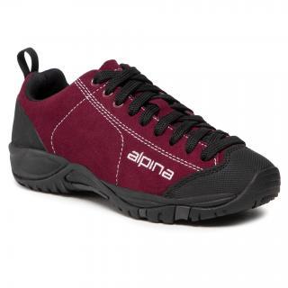 Trekingová obuv ALPINA - Diamond 634A-3K Rhododendron dámské Bordó 37