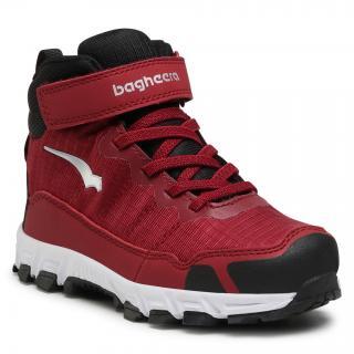 Trekingová obuv BAGHEERA - Astro 86468-12 C1601 Burgundy/Black pánské Bordó 35