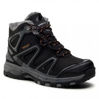 Trekingová obuv BAGHEERA - Verbier 86330-7 C0102 Black/Dark Grey pánské Černá 45