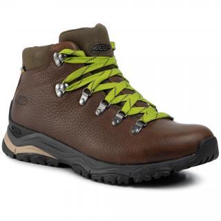 Trekingová obuv KEEN - Feldberg Apx Wp Limited 1021806 In The Wood Green pánské Hnědá 44