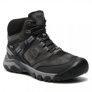 Trekingová obuv KEEN - Ridge Flex Mid Wp M 1024911 Magnet/Black pánské Šedá 47