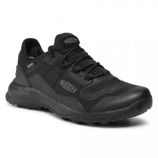 Trekingová obuv KEEN - Tempo Flex Wp 1025294 Triple Black pánské Černá 45