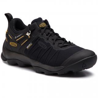 Trekingová obuv KEEN - Venture Wp 1021173 Black/Keen Yellow pánské Černá 41
