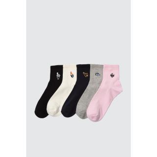 Trendyol 5 Multicolor knitted socks dámské One size