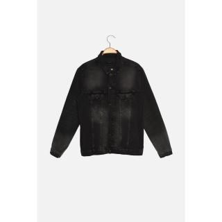 Trendyol Anthracite Mens Regular Fit Jacket pánské Other S