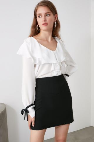Trendyol Black Basic Skirt dámské 34