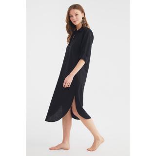 Trendyol Black Beach Dress dámské 34