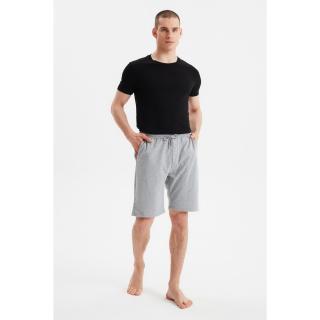 Trendyol Black-Gray 2 Pieces Shorts & Bermuda pánské S