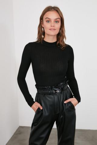 Trendyol Black Knitwear Sweater dámské L