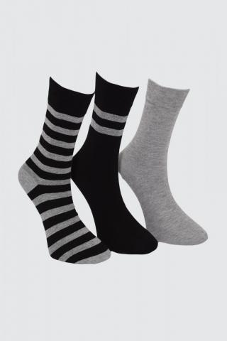 Trendyol Black Male 3 Pack Socket Socks One size