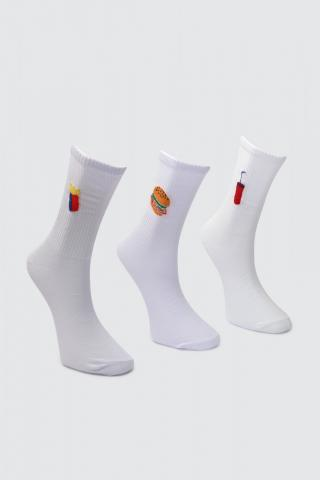 Trendyol Black Male 3 socket Socks One size