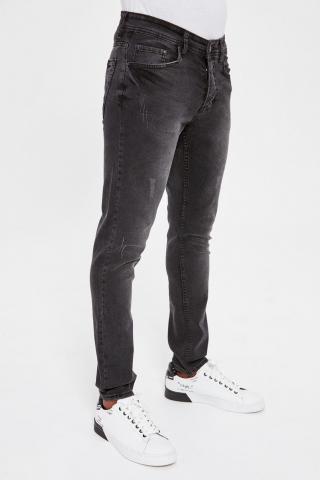 Trendyol Black Male Rake Wear-Off Skinny Jeans 34