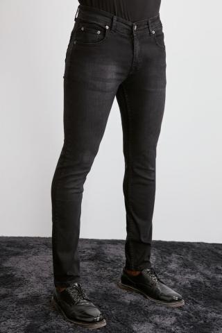 Trendyol Black Male Skinny Jeans 36
