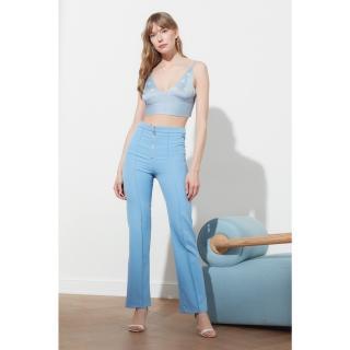 Trendyol Blue Basic Pants dámské Navy 42