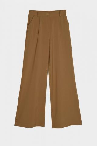 Trendyol Brown Basic Pants dámské 36